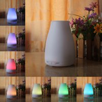 Wholesale 100ml Essential Oil Diffuser Portable Aroma Humidifier Diffuser LED Night Light Ultrasonic Cool Mist Fresh Air Spa Aromatherapy CAST Hot