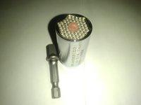 Wholesale 2 Piece set Universal Gator Grip Socket Wrench Power Drill Adapter mm Multi Function Hand Tool Set Repair Kit