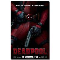 Cheap Deadpool USA Superheroes Comic Movie Art Silk Fabric Poster Print 24x36 inches canvas wall art modern
