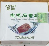 Wholesale Joway tourmaline soap Cleansing beauty health care hot tourmaline soap