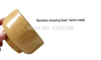 Wholesale Bamboo Shaving Bowls Shave Brush Cream Cup cup cup coaster cup coaster