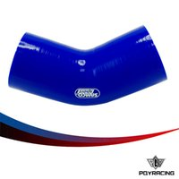 Wholesale PQY RACING BLUE quot mm Degree Elbow Silicone Hose Pipe Turbo Intake PQY SH45275BL