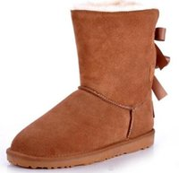 bailey flowers - 2016 Christmas Promotion Womens boots BAILEY BOW Boots NEW Snow Boots for Women
