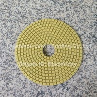 Wholesale Diamond Wet Polishing Pad inch mm Circle Polishing Wheel for Marble Granite Nylon Cloth Abrasive Pad Pieces