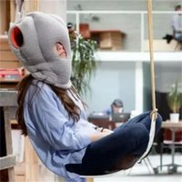Wholesale New Creative Sleeping Artifact Ostrich Pillow for Office Nap High Quality Lunch Sleep Pillows Travel Pillow