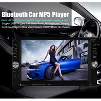 Wholesale 6 quot HD Touch Screen Bluetooth Car Stereo Auto DIN Audio Radio In Dash USB MP3 MP5 Player Support Fast Cellphone Charging CMO_21A