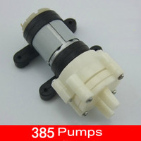 Wholesale Hihgt Quality New R385 Air Diaphragm Pump Micro circulation Washing water pump DC flow L min