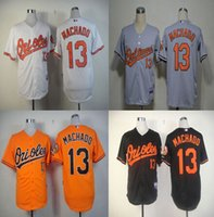 Wholesale Manny Machado Jersey Baltimore Orioles Jersey Baseball Jersey White Black Grey Orange Cream Top Quality