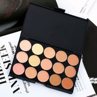 Wholesale Professional15 Color Facial Concealer Contour Palette Professional Facial Care Camouflage Makeup Cosmetic paleta de corretivo