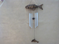 adorn retro - Vintage wooden fish bells Retro coking products by hand Men and women friends birthday present Stores is hanged adorn