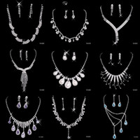 imitation jewelry - Best Selling Cheap Nine Styles Statement Necklaces Pearl Sets Bridesmaids Jewelry Lady Women s Prom Party Fashion Jewelry Earrings