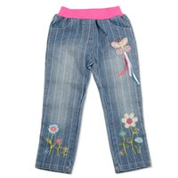 pair of jeans - The Girl Jeans Printed Jeans Fashion Beautiful Lovely Pair Of Jeans Suitable With Flowers