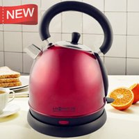 Wholesale LEE WONG electric kettle Vintage stainless steel electric heating boiler automatic power L insulation against the hot pot of tea safety