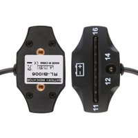 auto meter led indicator - 1Pc Car Motorcycle LED Battery Voltage Meter Indicator V Auto ATV Applications Popular New