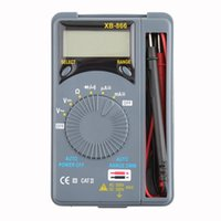 auto ac tools - 1Pc Auto Range LCD Mini Voltmeter Tester Tool AC DC Pocket Digital Multimeter Brand New