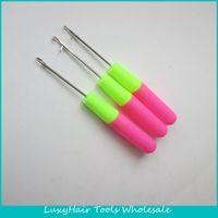 100pcs Enganche agujas 15cm Latch profesional de la aguja de ganchillo para tejer el cabello Jumbo trenzas y rastas Hair Braiding Weaving POR DHL