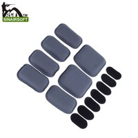 airsoft sticker - Airsoft Tactical Military Protective Pad for CP Style Fast Helmet pad Paintball Wargame High Glutinosity Sticker Helmet Cushion