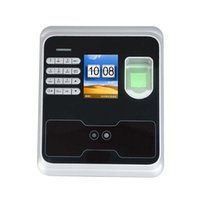 Wholesale 2 quot TFT Fingerprint Face Recognition Attendance Machine Time Clock Optional software and free software attendance