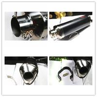 Wholesale Genuine carbon fiber motorcycle exhaust pipe tubo escape moto gp exhaust kawasaki cc cc cc cc cc cc cc