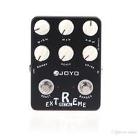 Wholesale Black JOYO JF Guitarra Violao Guitar Effect Pedal Parts Extreme Metal Distortion for Musical Instrument Electronic