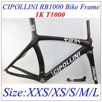 Wholesale Hot Sale RB1000 CIPOLLINI K matte Glossy full carbon fibre frame glossy DI2 carbono frames with BB30 size XXS XS S M L