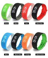 Wholesale Cheap W9 Fashionable Healthy Sport Smart Bracelet colourful outdoor bracelet smart