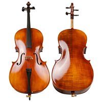 antique cello - TONGLING Professinal Matte Cello Antique Natural Flamed Violoncello Acoustic Musical Instrument