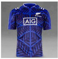 Wholesale 2017 new All Black home rugby Jersey1617 all blacks new zealand top quality rugby shirts men euro size S xl