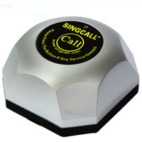 base number systems - SINGCALL wireless paging system silver single pager can call the number with removable waterproof base