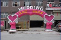 Wholesale The new gas married wedding Inflatable Arches tent door