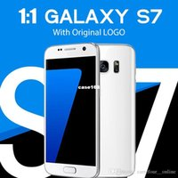 Wholesale New High Quality Clone S7 Phones MTK6582 x1080 Show Octa Core GB GB Android S7 bit dual sim Metal frame WIFI Smartphone