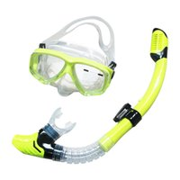 Wholesale Professional Diving Mask Silicone Gear Scuba Equipment Full Dry Snorkel Anti Fog Swimming Snorkeling Sports Diving Glasses Goggle