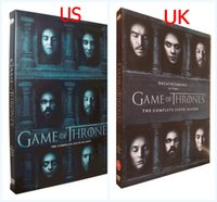 Cheap New! Game of thrones season 6 5DVD set UK US version Brand New Sealed DHL Shipping Factory Price