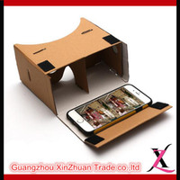 active glasses - For Smart Phone Lovely Carton D Glasses Virtual Reality Google Cardboard D Movies D Viewing Google