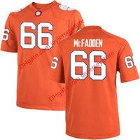 banking colleges - 66 Banks McFadden Clemson Tigers Jersey NCAA College Jerseys Stitched Red
