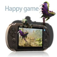 Wholesale 8GB G300 inch portable double rocker game player handheld game console camera video music for gba nes gbc sfc smc smd mini game