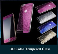 apple body shape - Luxury Rhombus Shape Screen Protector Electroplate Diamond Cut Tempered Glass Phone Case for iPhone s s plus with Retail Package