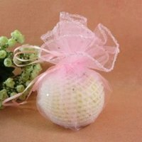 baby jewelery - 100pcs cm Round Drawstring Pack Sachet Organza Pouch Jewelery Gift Candy Bag Wedding Party Favor Baby Shower Decor