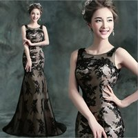 Wholesale trade in black fish tail bridal dinner will be small and short in front long wedding dress new