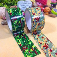 army car accessories - 2 Colors CM M Outdoor Shooting Hunting Camera Tools Waterproof Wrap Durable Cloth Army Camouflage Tape Hunting Accessories