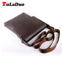 Wholesale TuLaDuo Brand Bag Men Messenger Bags Men s Crossbody Small sacoche homme Satchel Man Satchels bolsos Men s Travel Shoulder Bags