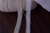 antique lace trim - 30yards Antique Style Crochet Cotton Cluny Crochet Cotton Lace Trim Edging Wedding Sewing