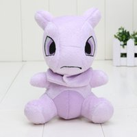 baby cartoon video - 14cm High Quality Poke Plush Toys Mewtwo New Fashion Cartoon Pikachu Plush Toys Baby Gifts Christmas Gifts