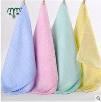 Wholesale Soft Baby Newborn Children Bath Towels Washcloth for Bathing Feeding baby washcloths washrag face