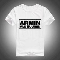 armin van buuren - Music DJ Armin Van Buuren T Shirt Hiphop Rock T shirt Armin Van Tshirt Hip Hop T shirts Quality Brand Top Tees