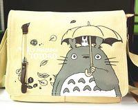 anime school bags and backpacks - Korean Japan Anime Cartoon Canvas Messenger Bag Travel School Bag Shoulder Crossbody Bag Daypack