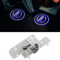 Wholesale LED Car Door Light Projector Logo Shadow D Welcome Light For Ni ssan Altima Armada Maxima Quest Titan Teana
