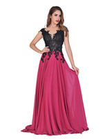 belle cocktail dress - Chic Belle Women Chiffon Backless V neck Lace Beaded Evening Gowns Prom Dresses