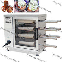 adjustable electric oven - Heavy Duty v v Electric Roller Hungarian Funnel Cake Kurtosh Chimney Cake Kurtoska Pastry Horn Cake Oven Machine