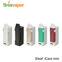 Wholesale Original Eleaf iCare Mini Kit with mah PCC Battery ml Capacity and mah Capacity with New IC Head Tinier Eleaf iCare Kit
